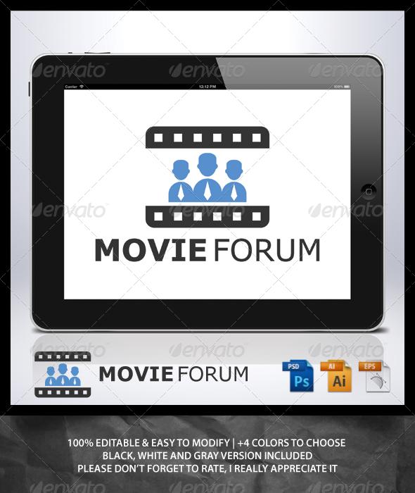 Movie Forum Logo - Humans Logo Templates