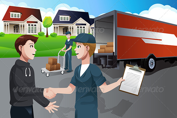 Advertising for Moving Company - Commercial / Shopping Conceptual