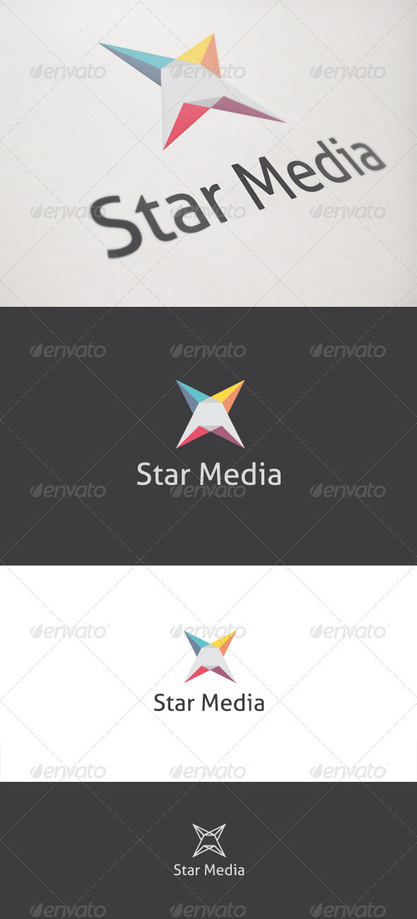 Star Media - Symbols Logo Templates