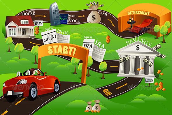 Financial Roadmap - Conceptual Vectors