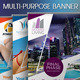 Multipurpose Banner Vol.4 - GraphicRiver Item for Sale