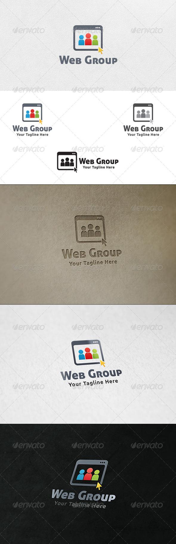 Social Web Group - Logo Template - Humans Logo Templates