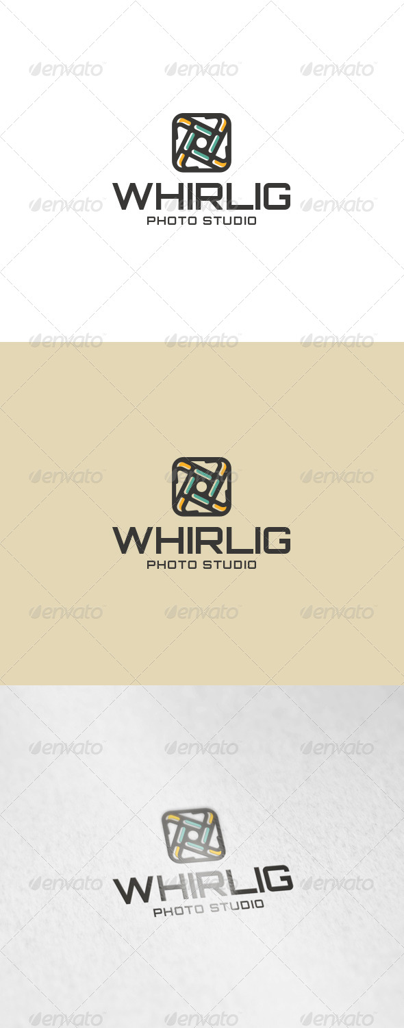 Whirlig Logo - Abstract Logo Templates