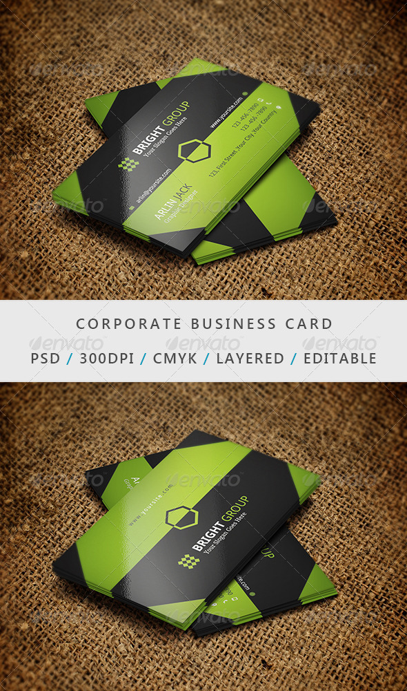 Business Card - 17 - Corporate Business Cards