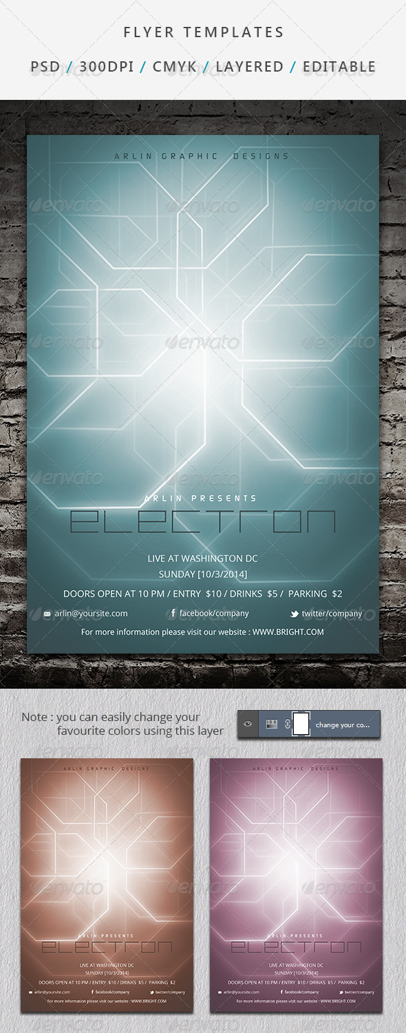 Flyer Template - 02 - Events Flyers