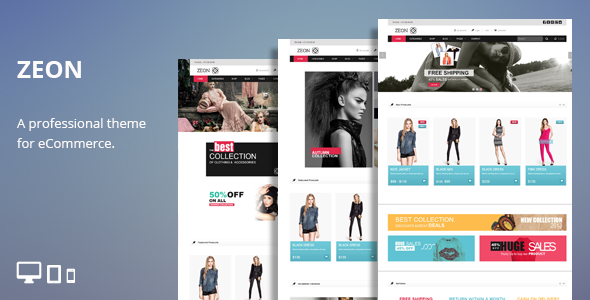 Zeon - eCommerce HTML Theme - Shopping Retail