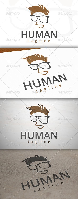 Geek Father Logo - Humans Logo Templates