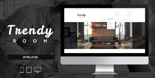 Trendy Room – Elite E-Commerce HTML Template