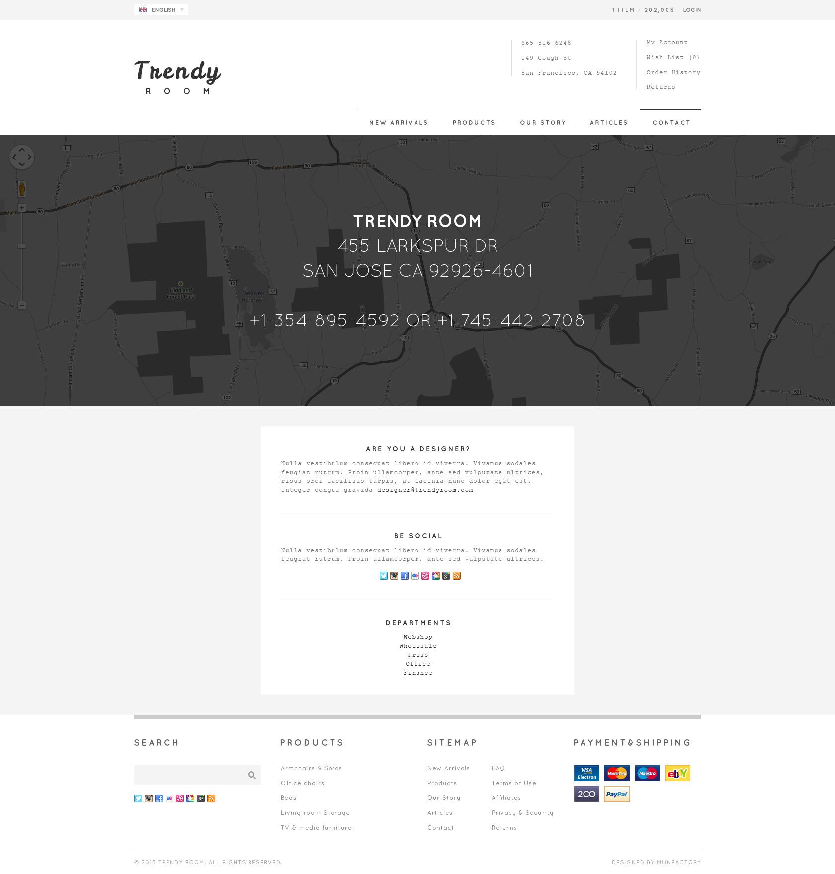 Trendy Room - Elite E-Commerce HTML Template by FinalDestiny ...