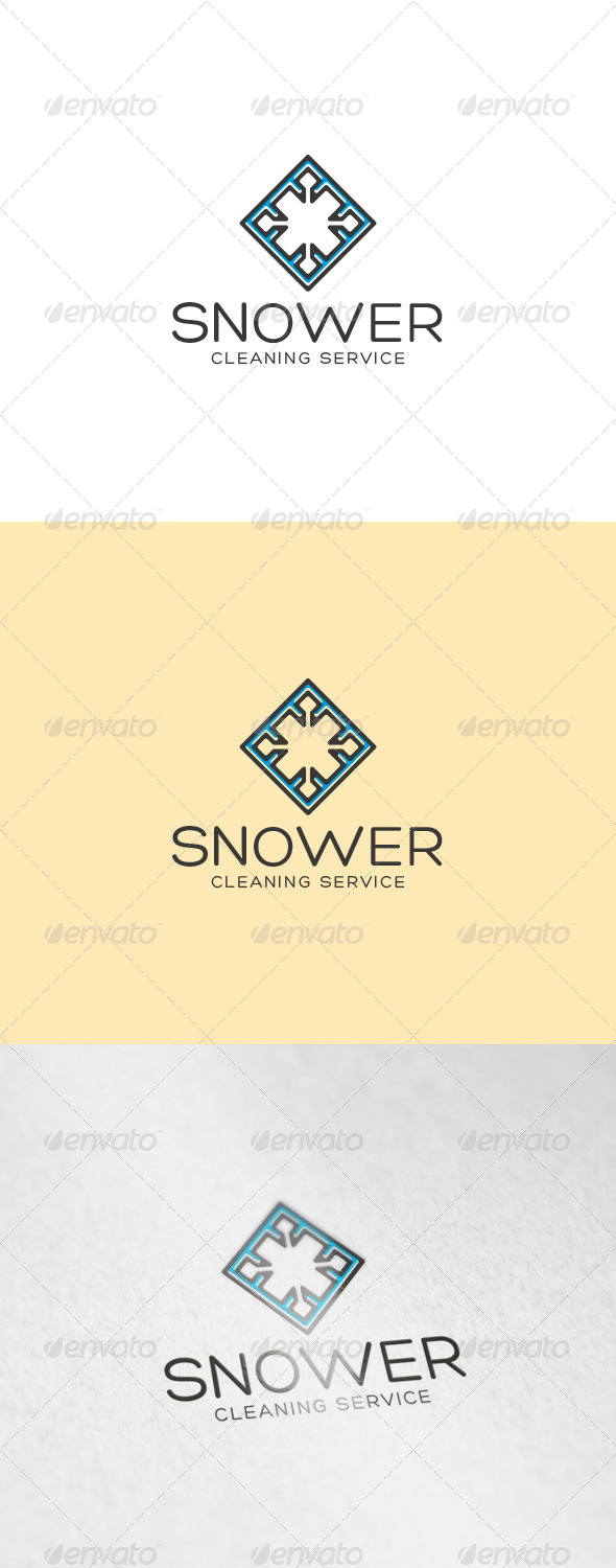 Snower Logo - Abstract Logo Templates