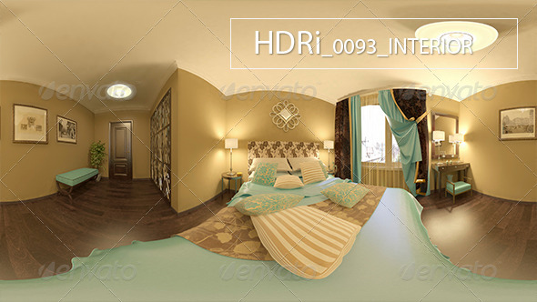 0093 Interoir HDR - 3DOcean Item for Sale
