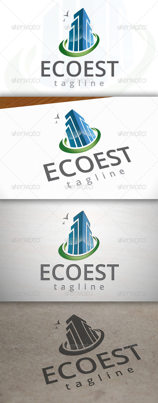 Eco Estate Logo - Buildings Logo Templates