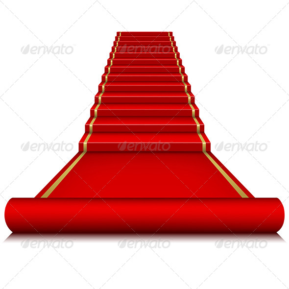 Red Carpet with Ladder - Miscellaneous Characters