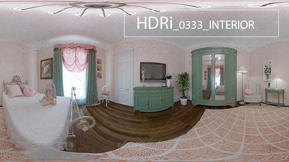 0333 Interoir HDR - 3DOcean Item for Sale
