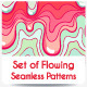 Seamless Flowing Pattern Pack - GraphicRiver Item for Sale