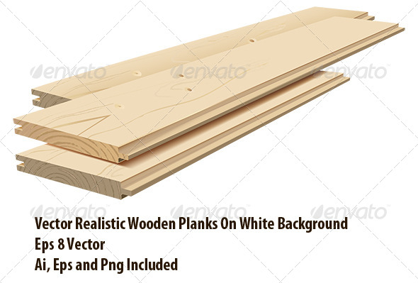 Planks - Objects Vectors