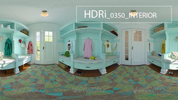 0350 Interoir HDR - 3DOcean Item for Sale