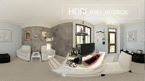 0361 Interoir HDRi - 3DOcean Item for Sale