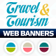 Travel & Tourism Web Banner Set - GraphicRiver Item for Sale