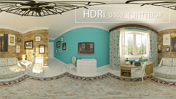 0362-1 Interoir HDRi - 3DOcean Item for Sale