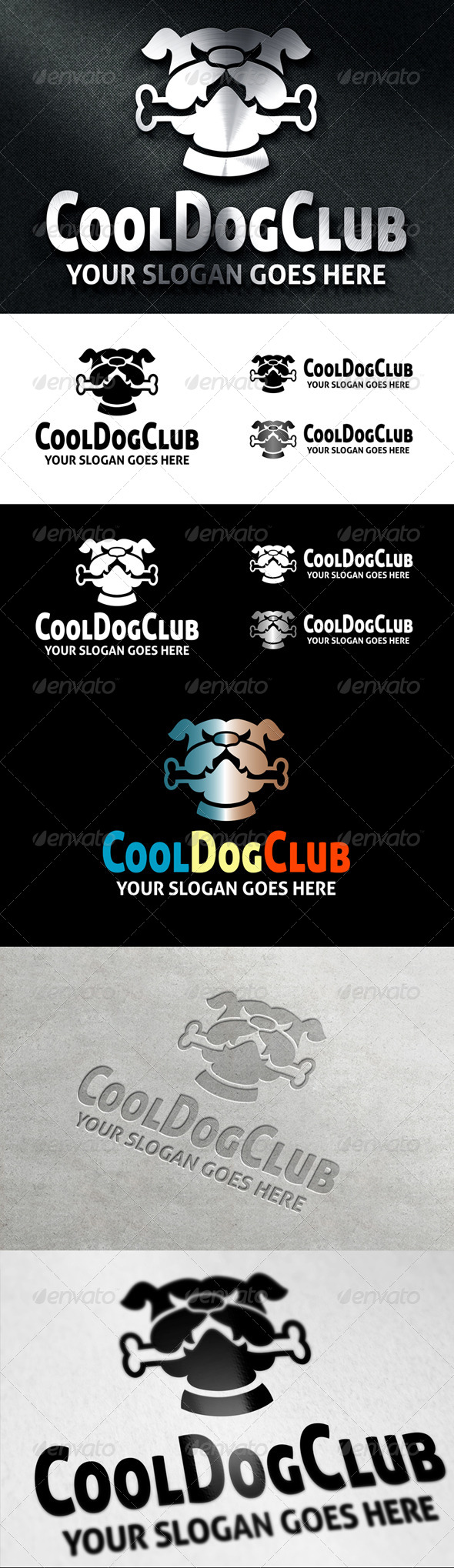 CoolDogClub Logo - Animals Logo Templates