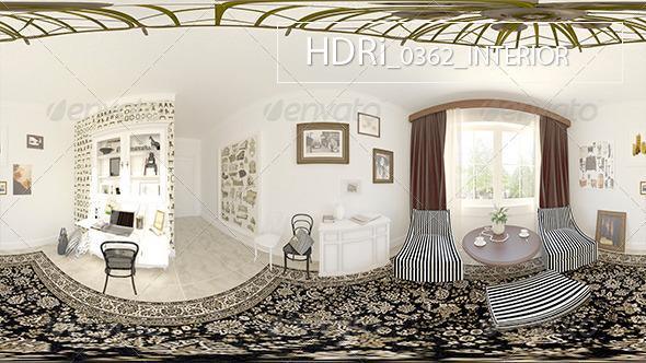 0362 Interoir HDR - 3DOcean Item for Sale