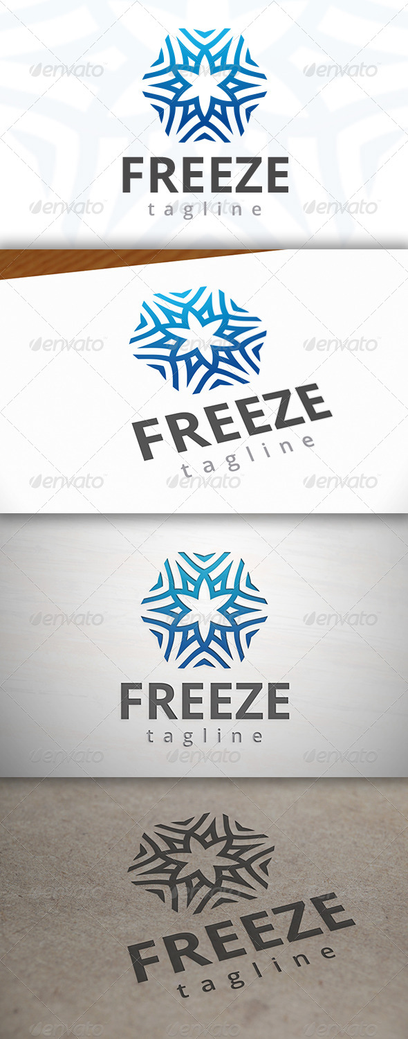 Freeze Logo - Vector Abstract