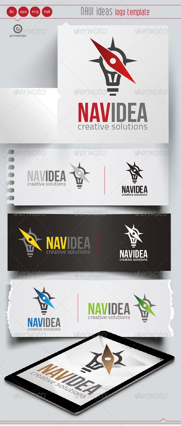 Navi Idea - Logo Templates