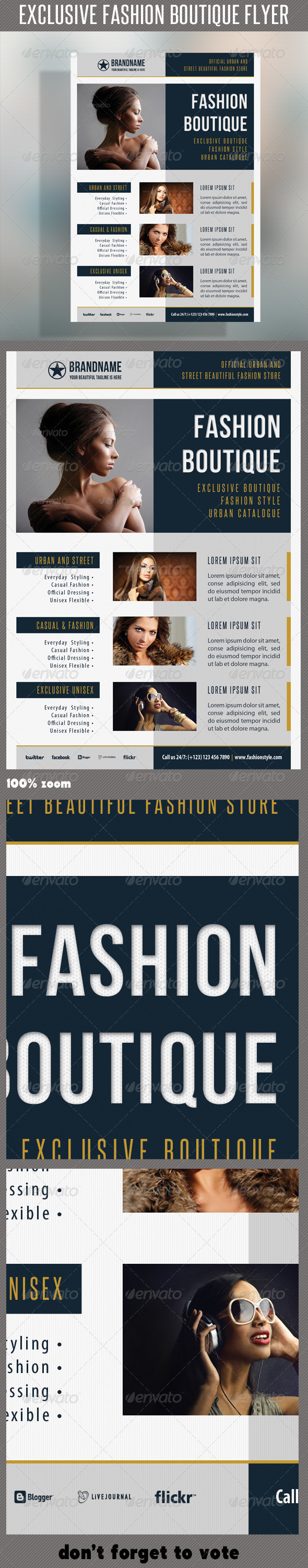 Fashion Product Flyer 37 - Commerce Flyers