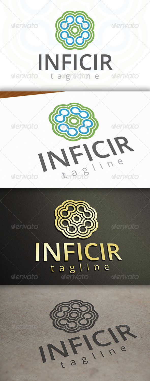 Infinite Circles Logo - Vector Abstract