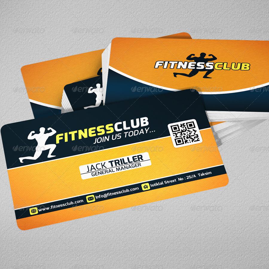 Fitness Club Trifold Brochure & Business Card by fatihakdemir ...