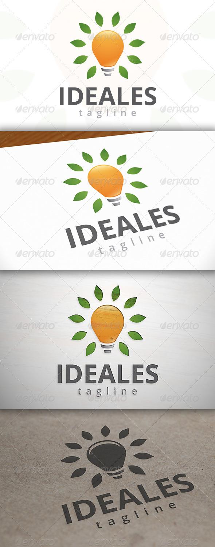 Eco Idea Logo - Nature Logo Templates