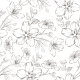 Cherry Blossom Seamless Pattern - GraphicRiver Item for Sale