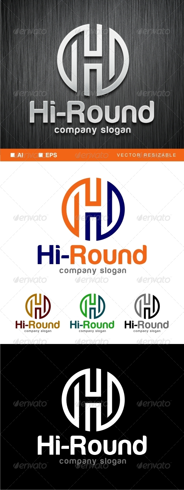 H Letter Logo Template - Letters Logo Templates