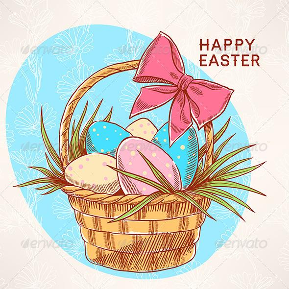 Easter Basket - Seasons/Holidays Conceptual