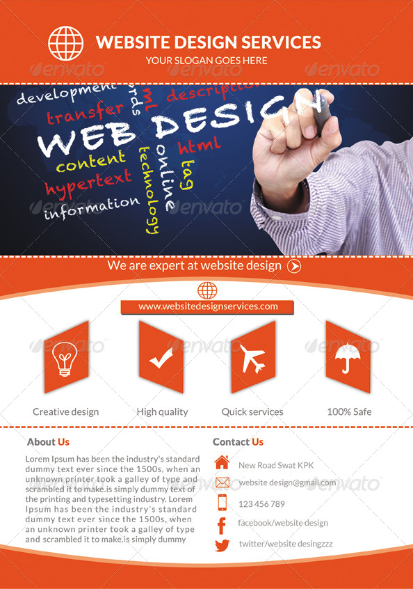 Web Design Services Flyer By Mehrodesigns | Graphicriver