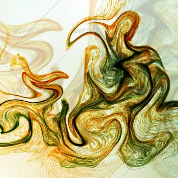 Abstract Mystic Background - Abstract Conceptual