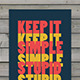 Urban Poster Mock-Up - GraphicRiver Item for Sale