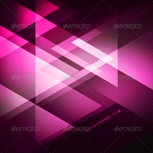 Elegant Geometric Purple Background - Miscellaneous Vectors