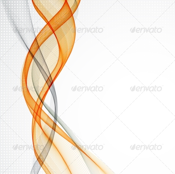Abstract Empty Background with Smoke Wave - Miscellaneous Vectors