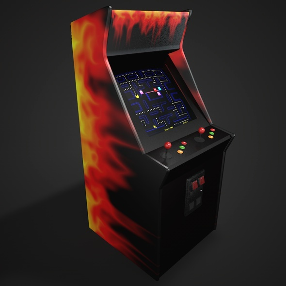 Arcade Game - 3DOcean Item for Sale