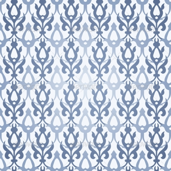 Seamless Background in Traditional Arabic Motifs. - Patterns Decorative