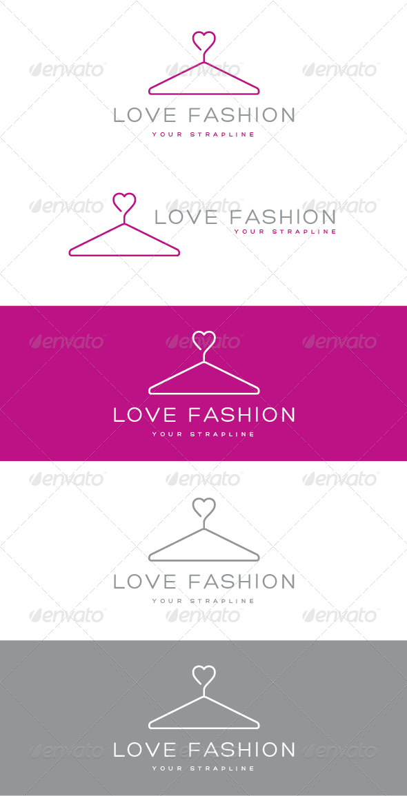 Love Fashion Logo by creativebeat | GraphicRiver