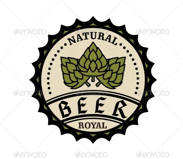 Beer Icon or Bottle Cap Design - Retail Commercial / Shopping
