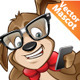 Cute Nerdy Dog - GraphicRiver Item for Sale