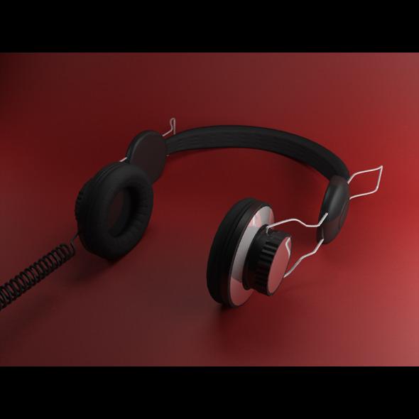 Generic Stereo Headphones - 3DOcean Item for Sale