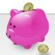 Piggybank & Coins - GraphicRiver Item for Sale