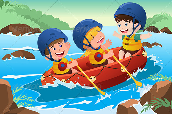 Kids on Boat - Sports/Activity Conceptual