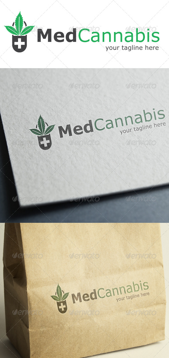 Medical Cannabis - Nature Logo Templates