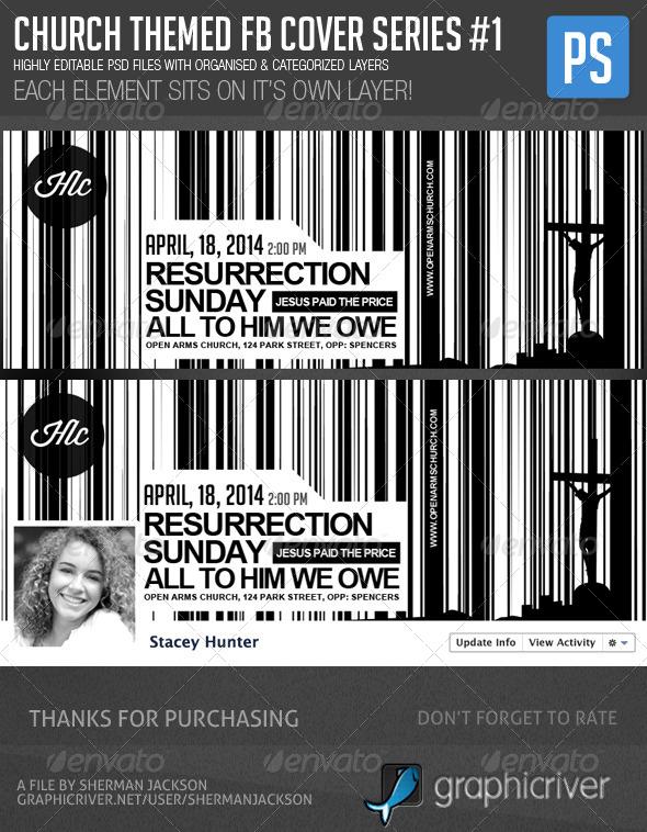 Church/Christian Themed FB Cover Series#1 - Facebook Timeline Covers Social Media